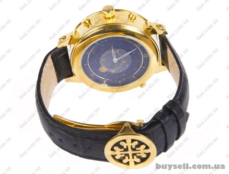Patek philippe sky moon tourbillon gold black купить