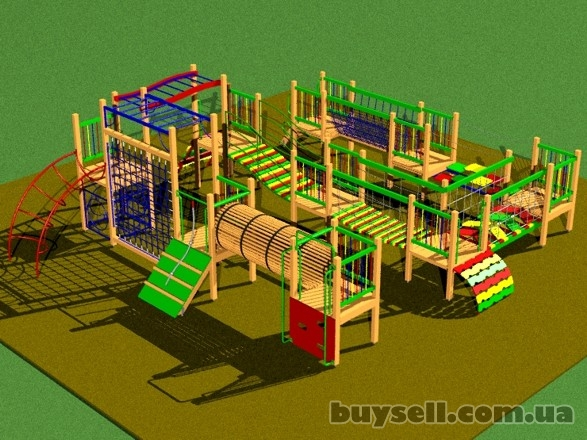 Детские игровые площадки в Харькове. изображение 2