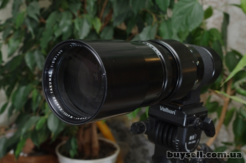 Super-Multi-Coated Takumar 1:   5.   6 400mm  крепление M42 изображение 4