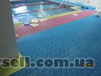 Модульное напольное покрытие для бассейнов и аквапарков собственного п