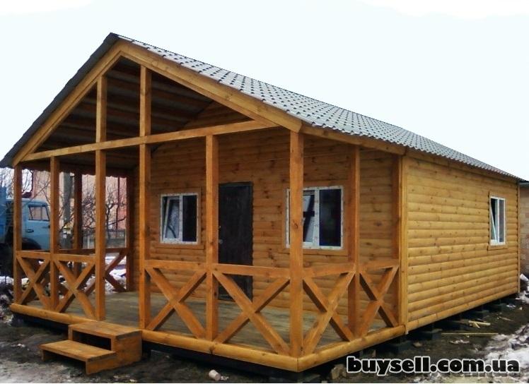 Дачные домики.   Бытовки из дерева на заказ изображение 4