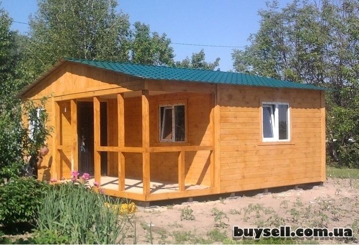 Дачные домики.   Бытовки из дерева на заказ изображение 3