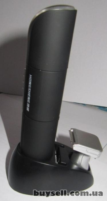 Мужской триммер 2-в-1 с подсветкой на подставке изображение 4