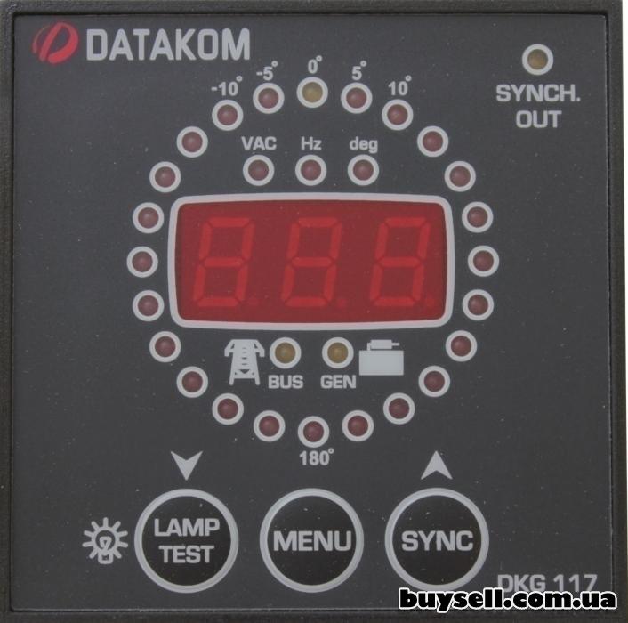 DATAKOM DKG-117 синхроскоп и контроллер синхронизующего реле