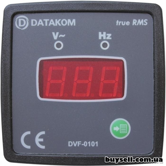 DATAKOM DVF-0101 цифровой вольтметр-частотомер True RMS
