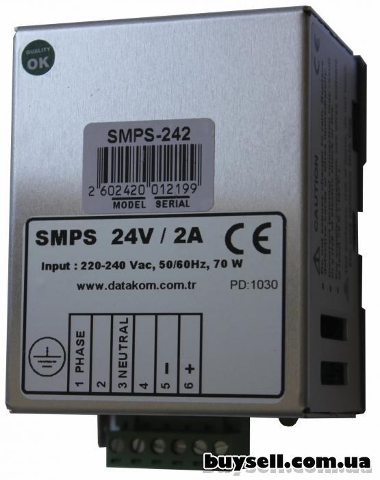 Зарядное устройство 12 В DATAKOM SMPS-242 с установкой на DIN-рейку