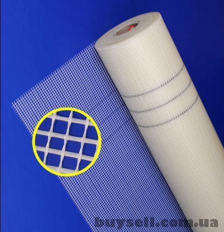 Стеклосетка 2х2-5х5-10х10 для внутренней отделки,    фасадная,    обра изображение 2