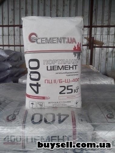 Цемент марка 400,     м500,     Портландцемент,      доставка по Киеву изображение 2