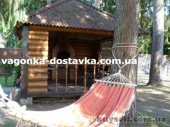 Блок-хаус,  имитация бревна Аскания-Нова