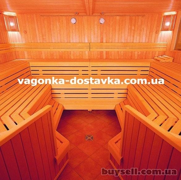 Вагонка Геническ сосна,  ольха липа изображение 2