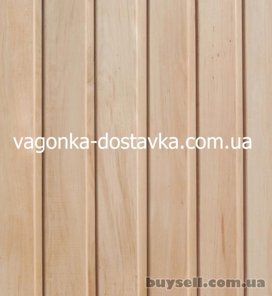 Вагонка Геническ сосна,  ольха липа изображение 3