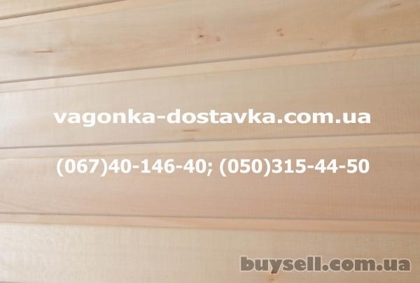 Вагонка липа Геническ изображение 3
