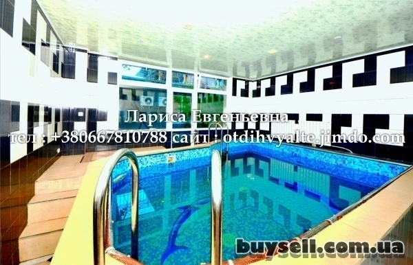 Гостевой дом в центре Ялты,      с бассейном,      двором,      мангал изображение 3