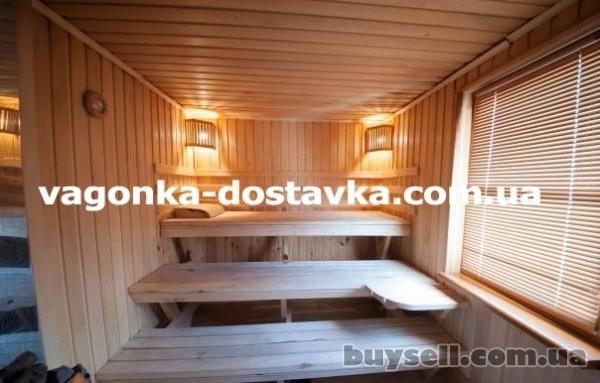 Вагонка деревянная Запорожье сосна,  ольха,  липа изображение 3