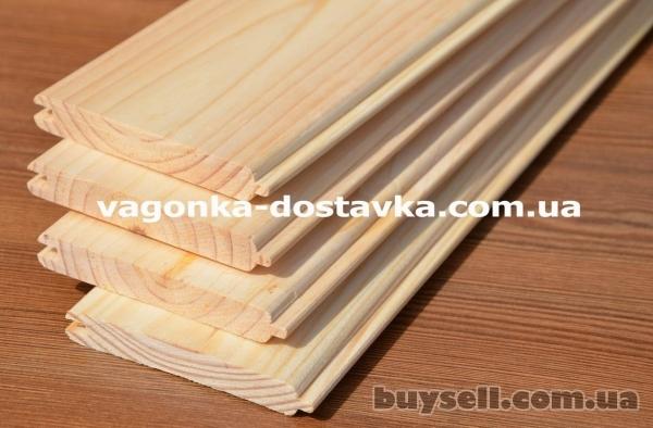 Вагонка деревянная Запорожье сосна,  ольха,  липа изображение 4