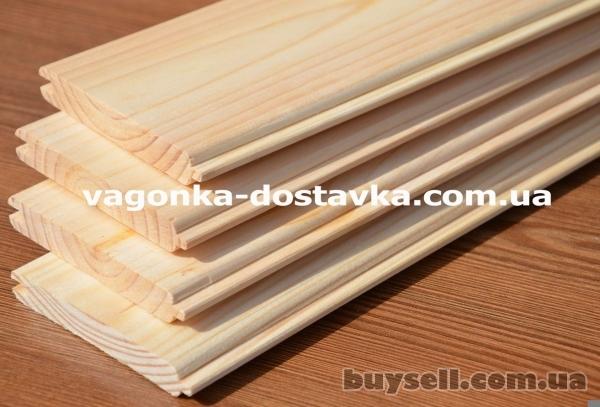 Вагонка Никополь сосна,  ольха,  липа изображение 4