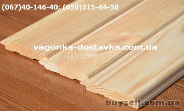 Вагонка сосна Никополь изображение 3