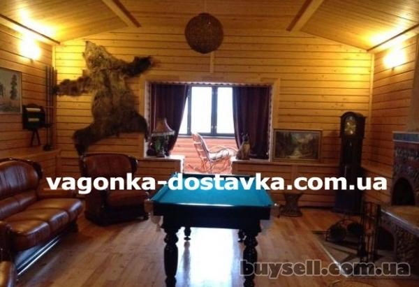 Вагонка Павлоград сосна,  ольха,  липа изображение 4