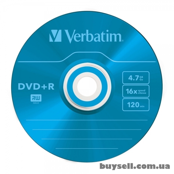 Verbatim DVD+R 4. 7GB 16X Colour Slim 5шт (43556) изображение 3