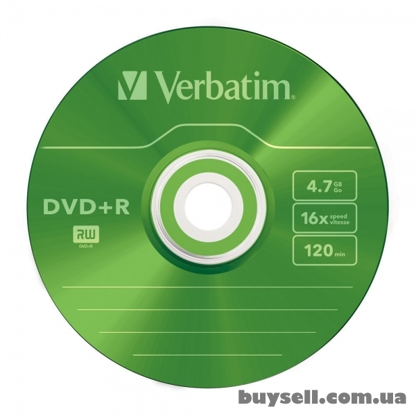 Verbatim DVD+R 4. 7GB 16X Colour Slim 5шт (43556) изображение 2