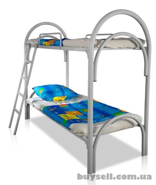 Двухъярусные металлические кровати оптом.  Кровати для общежитий,  кро