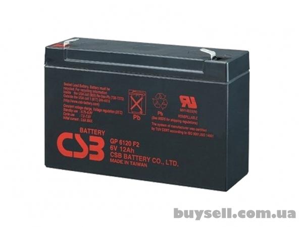 Аккумулятор CSB (брэнд) ,  Yuasa (элит)  6/12V 4-7-9-12Ah до до упса,