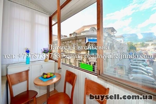 Квартира на набережной Ялты,   с видовым балконом,   до 5 человек изображение 4