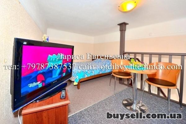 Квартира на набережной Ялты,   с видовым балконом,   до 5 человек