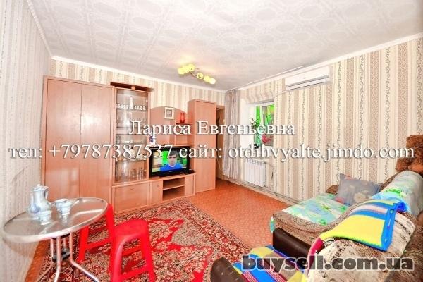 Квартира над Массандровским пляжем,   недорогой отдых у моря до 4 чел. изображение 3