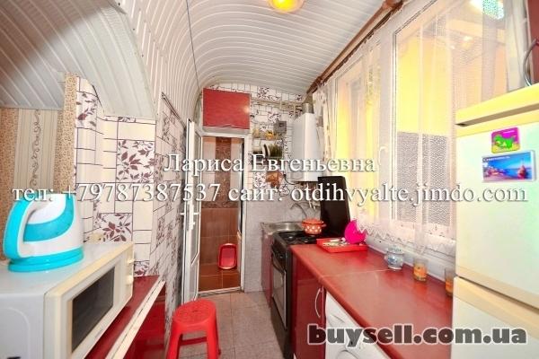 Квартира над Массандровским пляжем,   недорогой отдых у моря до 4 чел. изображение 5