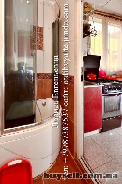 Квартира над Массандровским пляжем,   недорогой отдых у моря до 4 чел. изображение 2