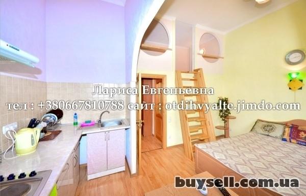 Квартира в центре Ялты,    в парковой зоне,    с двором,    мангалом,