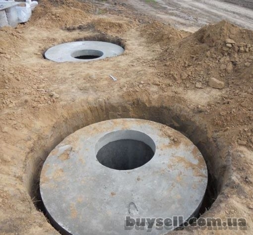 Копка колодцев, копка сливных ям (септики) ,  канализации,  ж/б кольца изображение 3
