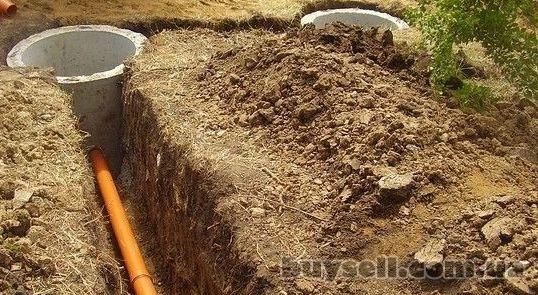 Копка колодцев, копка сливных ям (септики) ,  канализации,  ж/б кольца изображение 2