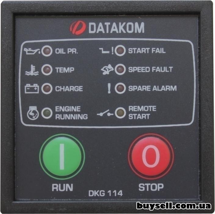 DATAKOM DKG-114 модуль ручного и удаленного пуска изображение 3