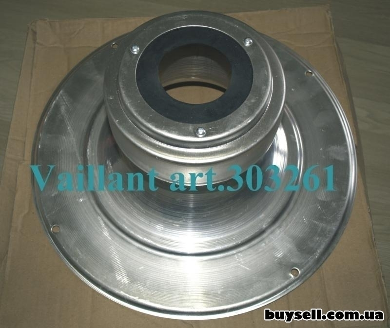 Колпак шахты с оголовком для Vaillant арт. 303261 алюминиевый изображение 3