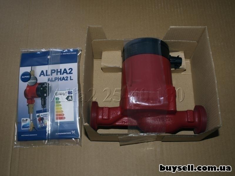 Насос циркуляционный Grundfos ALPHA2 25-40 180 (Дания) изображение 5