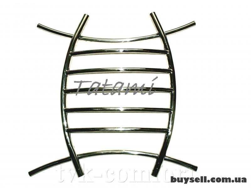 """Полотенцесушитель """"Tatami"""" 800 х 800 мм.-нержавеющая сталь изображение 2"""