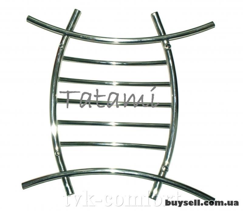 """Полотенцесушитель """"Tatami"""" 800 х 800 мм.-нержавеющая сталь"""