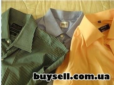 Фирменные мужские рубашки,    б/у. изображение 4