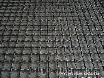 Сетка рифленая канилированная 10х10-20х20-50х50мм из проволоки 2,