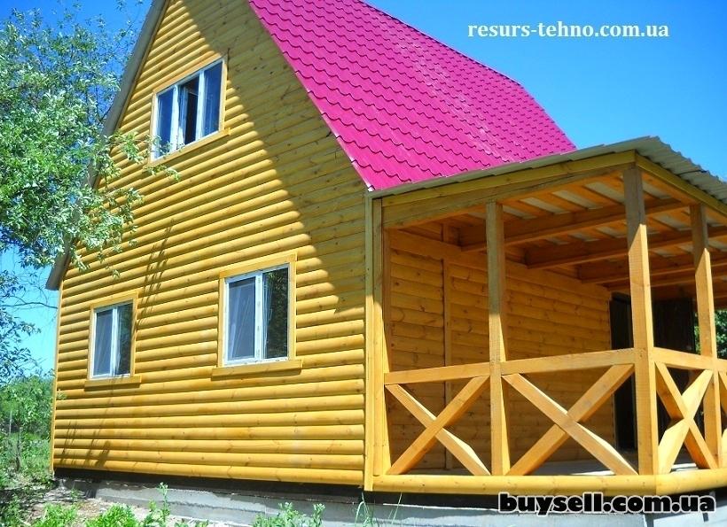 Дачные домики из дерева.    Бытовки. изображение 2