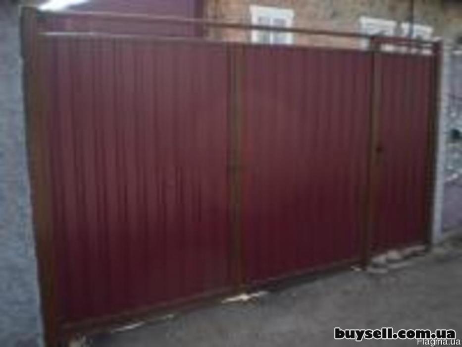 Ворота распашные Луцк изображение 3
