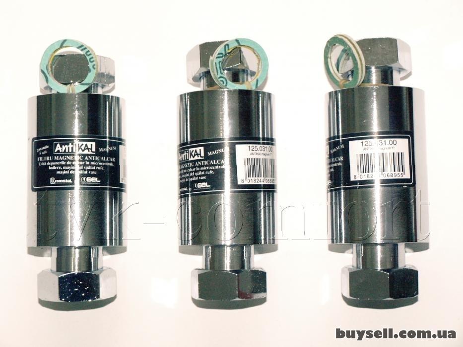 """Фильтр магнитный Antikal """"GEL""""  1'' для очистки воды изображение 2"""