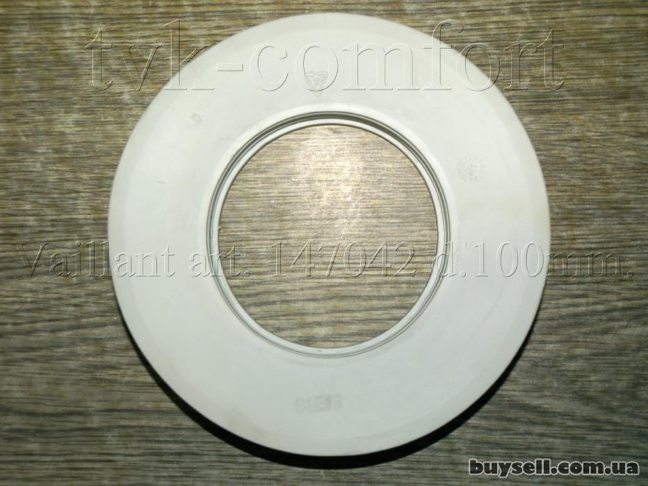 Розетта декоративная дымоходная Dn100mm. Vaillant art. 147042 изображение 2