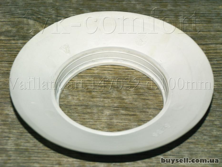 Розетта декоративная дымоходная Dn100mm. Vaillant art. 147042