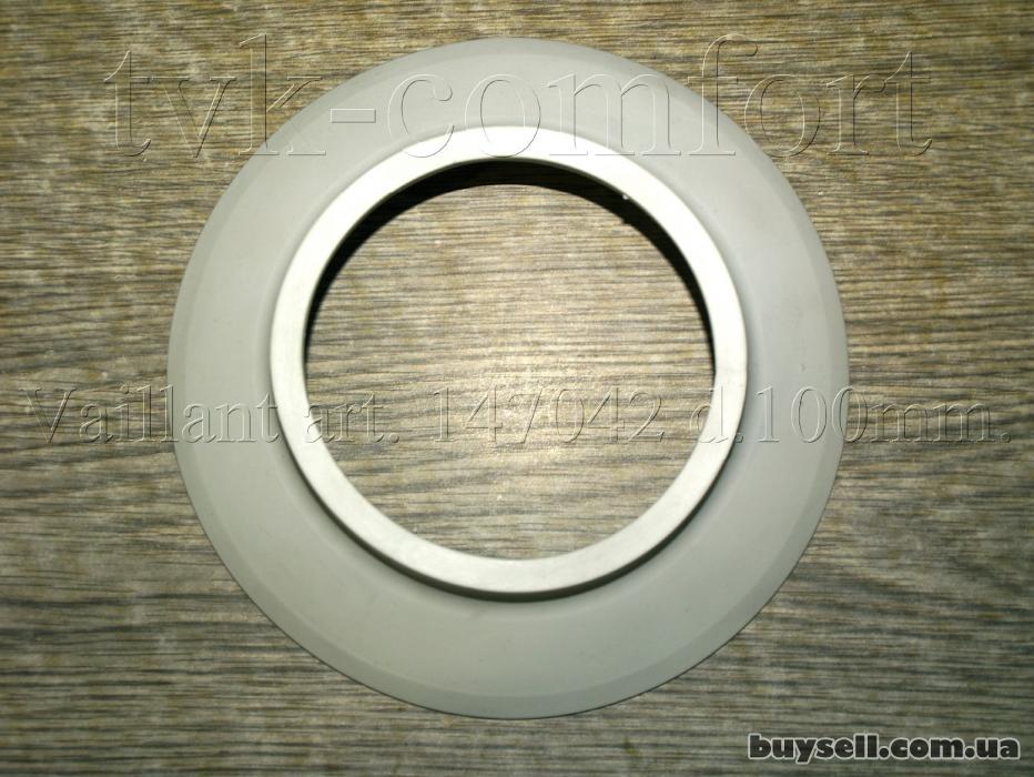 Розетта декоративная дымоходная Dn100mm. Vaillant art. 147042 изображение 4