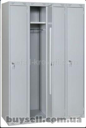 Шкафы металлические гардеробные изображение 2