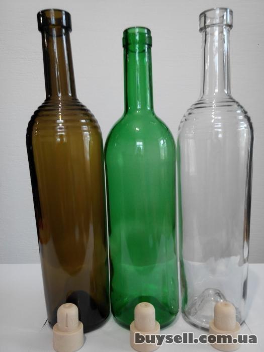 Стеклобутылка обработанная ультразвуком и кварцем. изображение 4