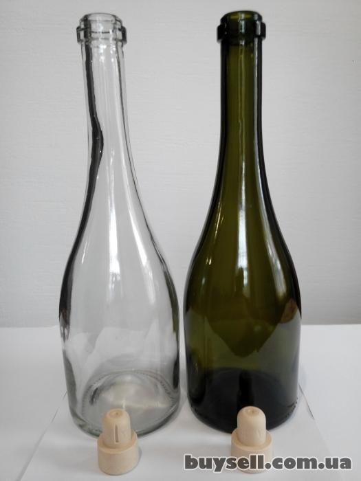 Стеклобутылка обработанная ультразвуком и кварцем. изображение 3